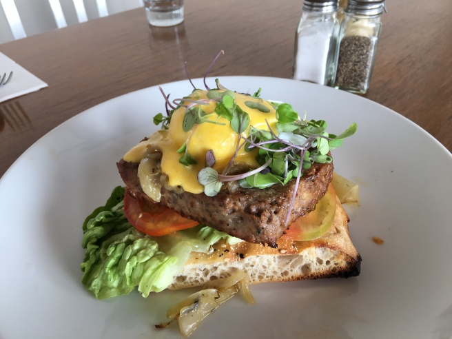 Meatloaf Sandwich @ Quay Street Cafe Auckland