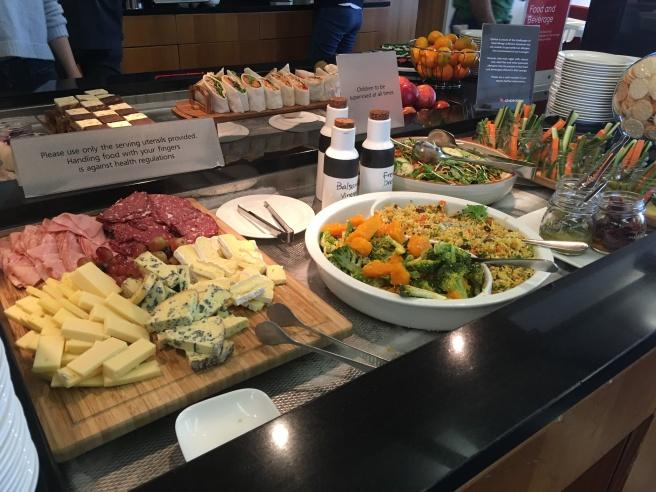 Qantas Club Business Class Lounge Auckland
