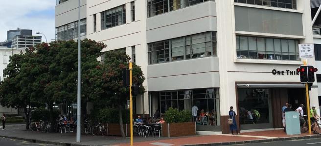 Quay Street Cafe Auckland