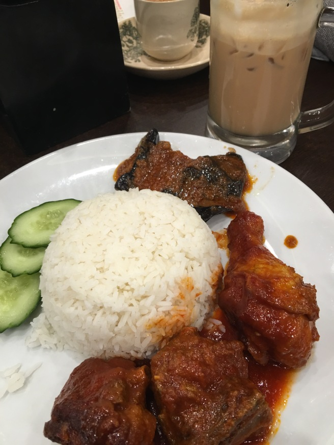 Red Chicken & Sambal Eggplant | PappaRich