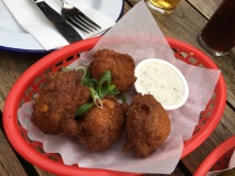 Sweet Corn and Leek Hush Puppies | Le Bon Ton