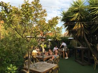 Beer Garden Le Bon Ton Collingwood