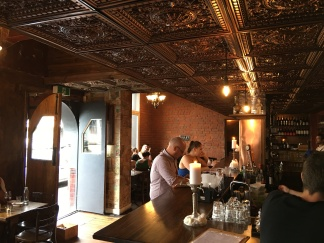 Main bar at Le Bon Ton Gipps St Collingwood