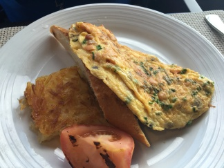 Salmon Omelet Chops Grille
